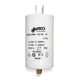 Condensateur 6 µf 450v PM114PT019   pour lave-linge