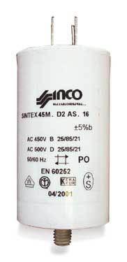 Condensateur 6 µf 450v