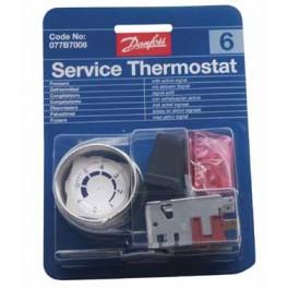Thermostat universel Danfoss No 6 - 077B7006 077B7006   pour réfrigérateur