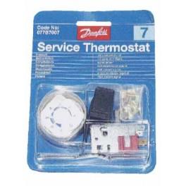 Thermostat universel Danfoss No 7 - 077B7007 077B7007   pour réfrigérateur