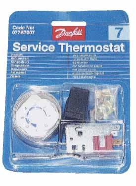 Thermostat universel Danfoss No 7 - 077B7007