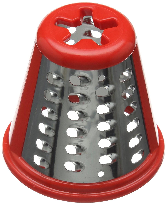 Cône grosse rape SS-193998 rouge pour robot Moulinex