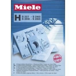 5 sacs Type H S227-S240-S269-S282 02046318   pour aspirateur
