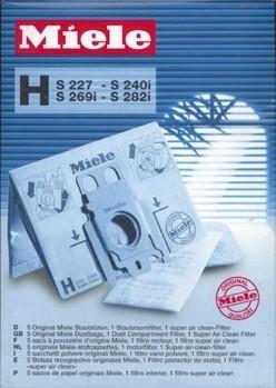 5 sacs Type H S227-S240-S269-S282