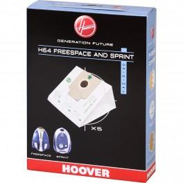 Pack de 5 sacs H64 Hoover 35600637   pour aspirateur