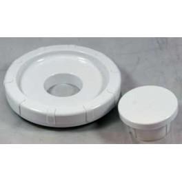 Couvercle blanc de blender + bouchon et joint KW650556   pour robot ménager