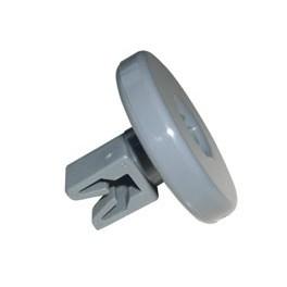 Roulette de panier inférieur. Lave-vaisselle Electrolux Arthur Martin Faure. Pièce détachée électroménager.