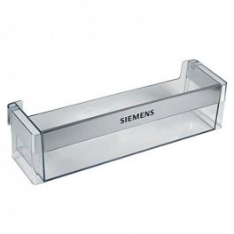 Etagère de porte 00743291. Réfrigérateur Siemens. Pièce détachée électroménager.