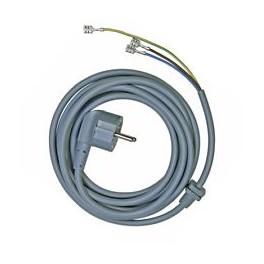 Cordon d'alimentation électrique 00481580. Machine à laver Bosch Siemens. Pièce détachée électroménager.