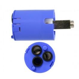 Cartouche 28mm HP KE bleu 116499. Mitigeur Blanco. Pièce détachée robinetterie.