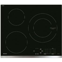 Dessus en verre AS0037603. Table de cuisson vitrocéramique Fagor Brandt Sauter. Pièce détachée électroménager.