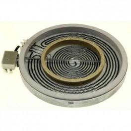 Foyer radiant 750W/2200W C690041P7. Plaque de cuisson et cuisinière Sauter. Pièce détachée électroménager.
