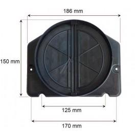 Clapet anti-retour 150mm 4055206132. Hotte aspirante Electrolux. Pièce détachée électroménager.