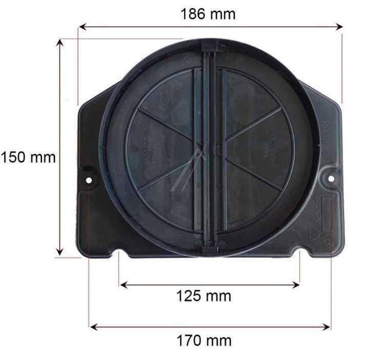 Clapet anti-retour 150mm Electrolux