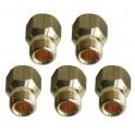 5 injecteurs gaz Butane Faure Electrolux 50269941006 pour Plaque de cuisson