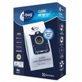 4 sacs CLASSIC E201S Long Performance. Aspirateur Electrolux / AEG. Accessoire électroménager.