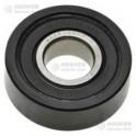 Roulement+galet caoutchouc support tambour Candy/hoover 40004307 pour Sèche-linge