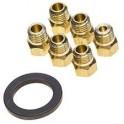 C00313659 kit injecteurs gb g30-29mbar diametre 6mm Whirlpool/indesit 481231038976