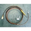 Thermocouple four à cosse 1000mm Smeg 948650125